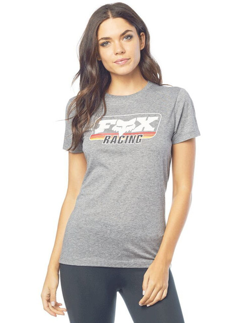 Fox Retro Fox T-Shirt Dames grijs